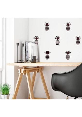 Wall-Art Wandtattoo »Ananas Set« kaufen