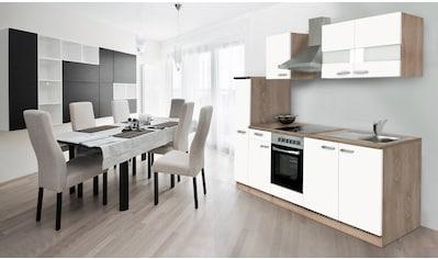 Küchenzeile, mit E - Geräten, Breite 240 cm kaufen