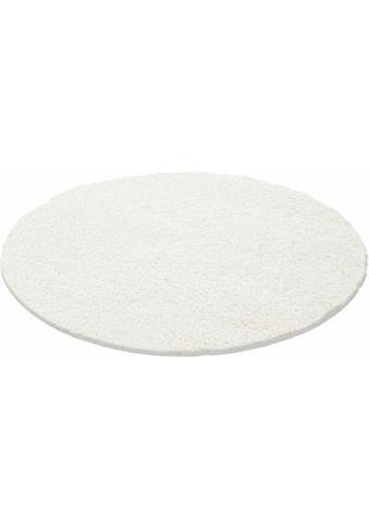 Hochflor - Teppich, »Life Shaggy 1500«, Ayyildiz, rund, Höhe 30 mm, maschinell gewebt kaufen