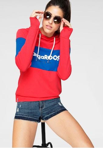 KangaROOS Hoodie, mit Markennamen auf der Brust kaufen
