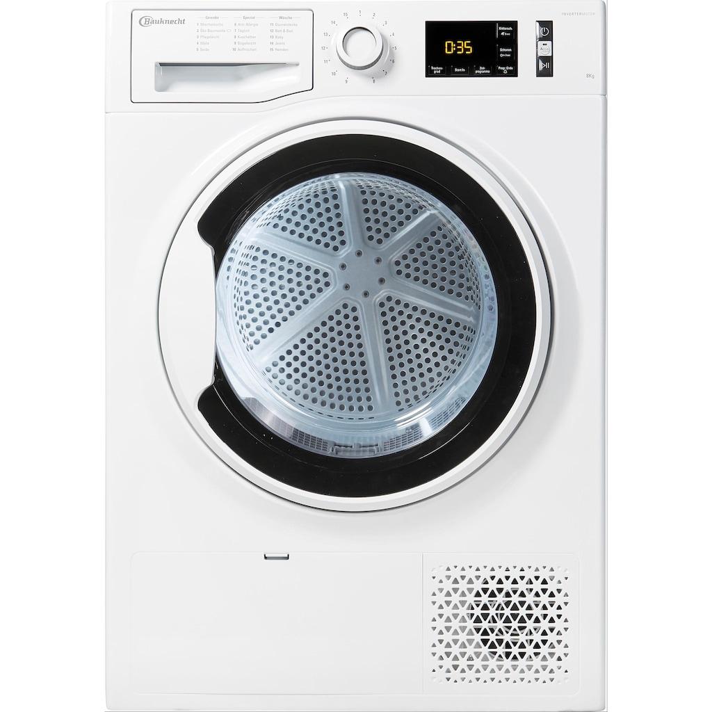 BAUKNECHT Wärmepumpentrockner »T ADVANCE M11 8X3WK DE«