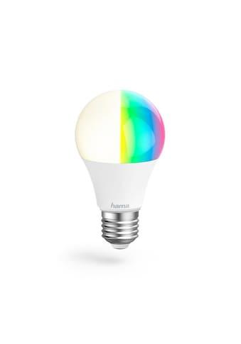 Hama WLAN LED Lampe, gesteuert via Alexa/Google/App, E27, RGB »10W, dimmbar, kein Hub nötig« kaufen