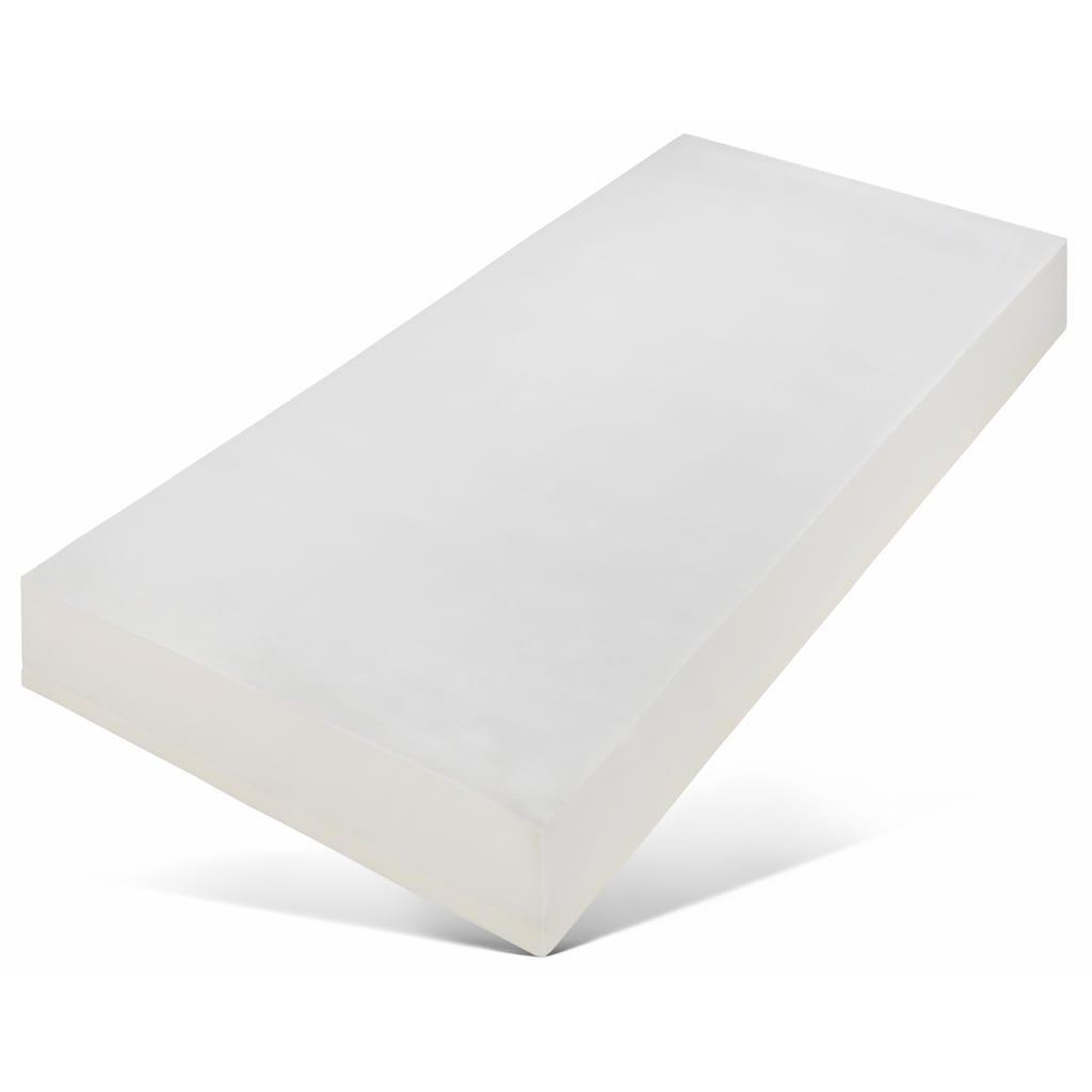 SonnCo Taschenfederkernmatratze »Quantum«, 28 cm cm hoch, (1 St.), mit 5 cm hoher, atmungsaktiver Viscoschaum-Auflage