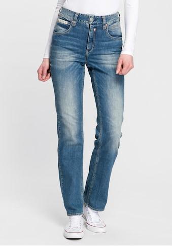 Herrlicher High-waist-Jeans »TOUCH HI STRAIGHT«, High Waisted mit softem... kaufen