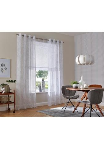 my home Raffrollo »Bamian«, mit Schlaufen kaufen