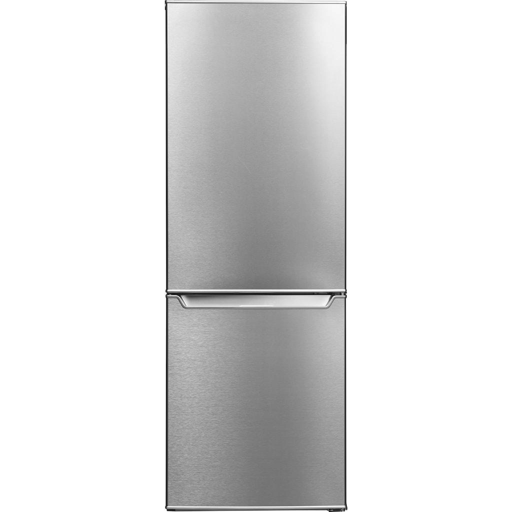 Hanseatic Kühl-/Gefrierkombination, 143 cm hoch, 49,5 cm breit