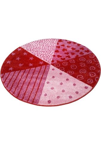 Kinderteppich, »Canon«, Sigikid, rund, Höhe 13 mm, maschinell gewebt kaufen