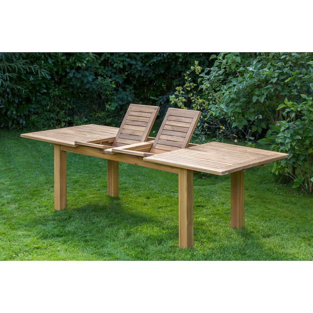 MERXX Gartentisch, 100x260 cm