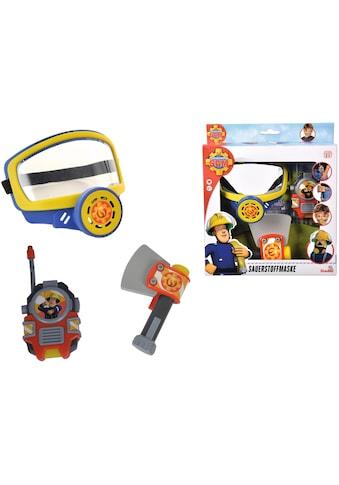 """SIMBA Spielzeug - Sauerstoffmaske """"Feuerwehrmann Sam"""" (Set, 3 - tlg.) kaufen"""