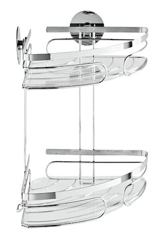 Eckregal mit transparenten herausnehmbaren Einlegeböden kaufen