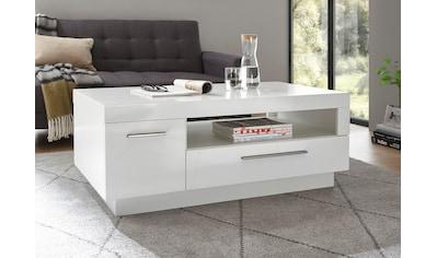 Places of Style Couchtisch »MERAN«, im modernen Design mit 1 Tür, 1 Schubkasten und 1... kaufen