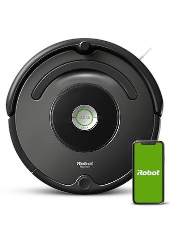 iRobot Saugroboter »Roomba 676«, WLAN, fähig,Dirt Detect-Technologie – 3-stufiges... kaufen