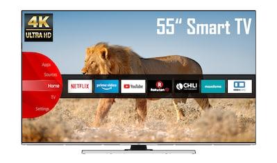 """JVC LED-Fernseher »LT-55VU8055«, 139 cm/55 """", 4K Ultra HD, Smart-TV kaufen"""