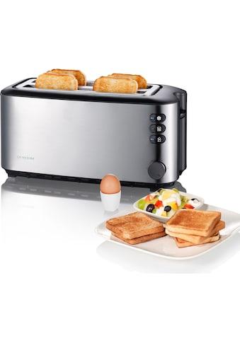 Severin Toaster »AT 2509«, 2 lange Schlitze, 1400 W kaufen