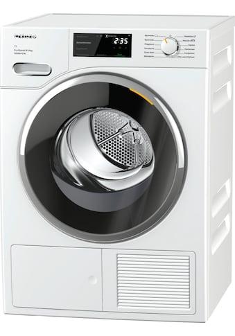 Wärmepumpentrockner, Miele, »TWF660 WP EcoSpeed & 8kg T1  Lotosweiß« kaufen