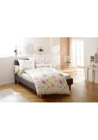 Home affaire Bettwäsche »Sarina«, mit schönen Blumen kaufen