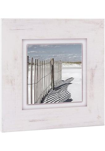 Home affaire Holzbild »Zaun am Strand«, 40/40 cm kaufen