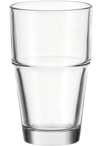 LEONARDO Gläser-Set »Solo«, (Set, 6 tlg.), 370 ml, 6-teilig kaufen