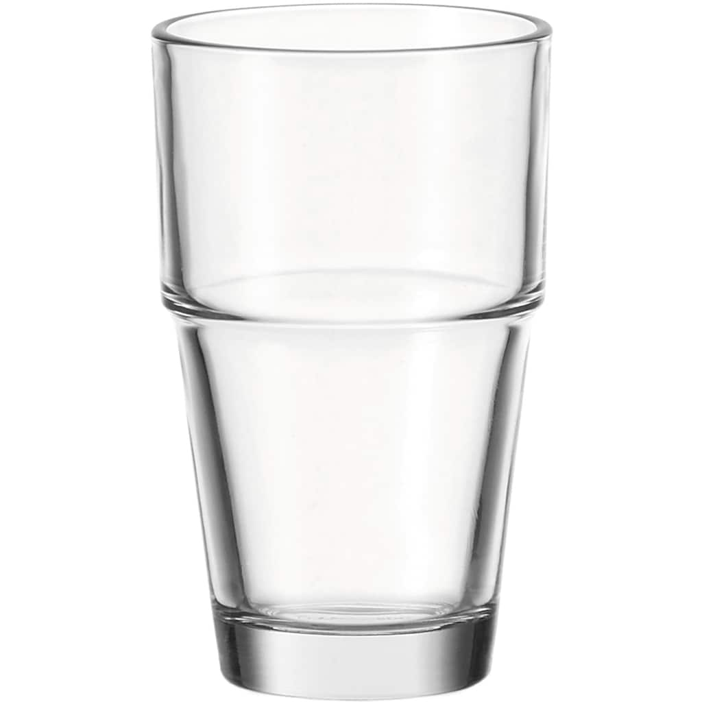 LEONARDO Gläser-Set »Solo«, (Set, 6 tlg.), 370 ml, 6-teilig