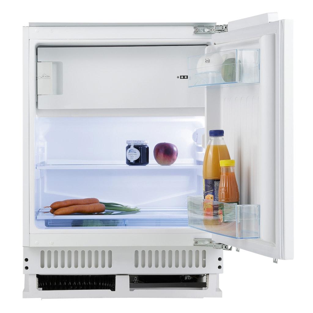 Amica Einbaukühlschrank, Höhe max. 87 cm
