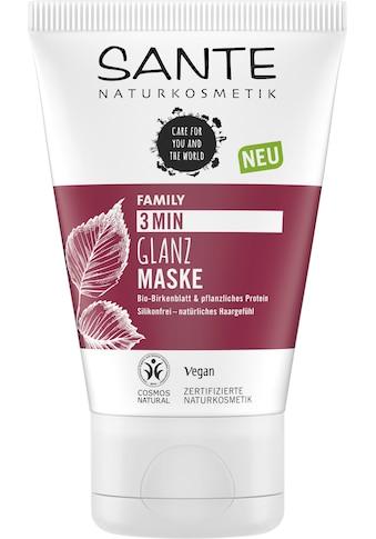 SANTE Haarmaske »FAMILY 3 Min Glanz Maske« kaufen