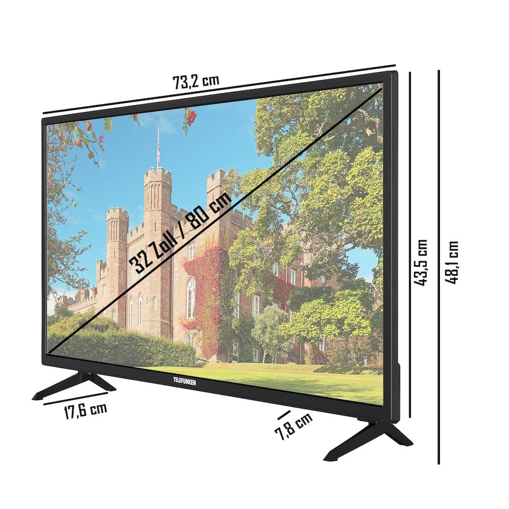 "Telefunken LED-Fernseher »XH32J511D«, 80 cm/32 "", HD-ready, Smart-TV"