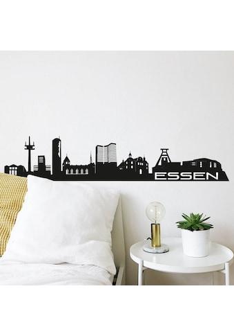 Wall-Art Wandtattoo »XXL Stadt Skyline Essen 120cm« kaufen