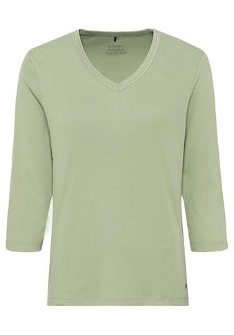 Olsen V-Shirt, aus Bio-Baumwolle kaufen