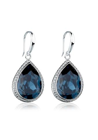 Elli Paar Ohrhänger »Tropfen Kristalle Elegant 925 Silber« kaufen