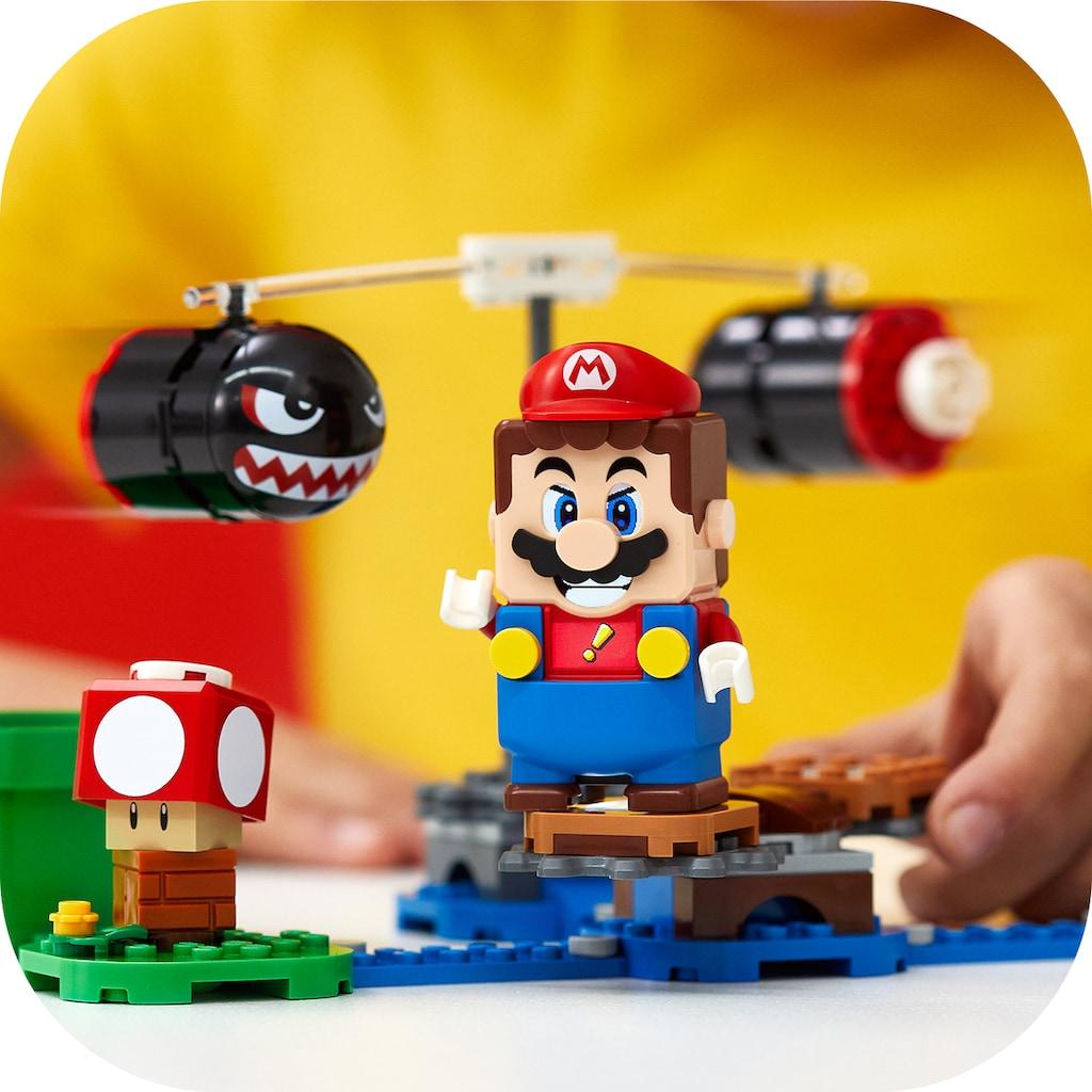 LEGO® Konstruktionsspielsteine »Riesen-Kugelwillis – Erweiterungsset (71366), LEGO® Super Mario«, (132 St.), Made in Europe