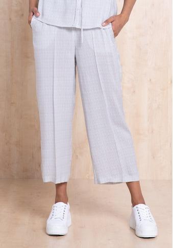 bianca Culotte »PARIGI«, aus 100% Viskose im modernen Streifendesign kaufen