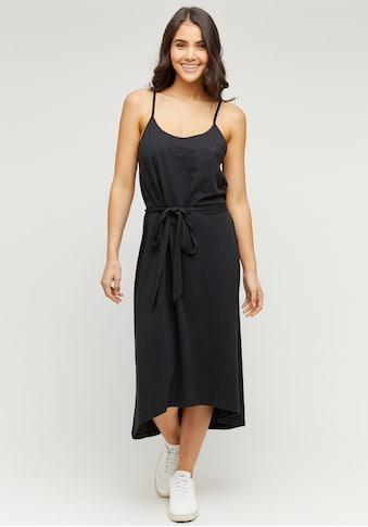 MAZINE Jerseykleid »Pinetta«, feminines Trägerkleid mit Bindegürtel kaufen