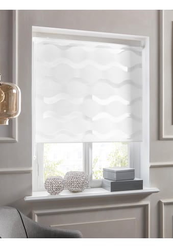 Doppelrollo »Wellen«, Guido Maria Kretschmer Home&Living, Lichtschutz, ohne Bohren, freihängend kaufen