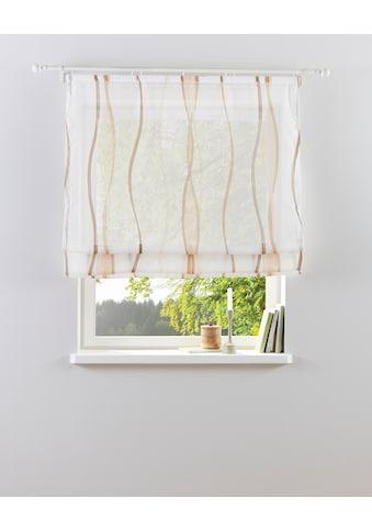 my home Raffrollo »Dimona«, mit Klettschiene kaufen