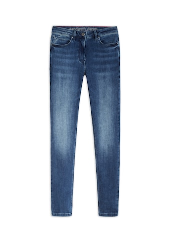 Sandwich Skinny-fit-Jeans, in einem verwaschenen Look kaufen