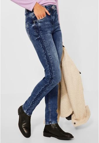 Cecil Slim-fit-Jeans, mit Stickerei kaufen