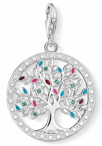 THOMAS SABO Charm-Einhänger »Tree of Love, 1667-473-7«, mit Emaille, Glas-Keramik... kaufen