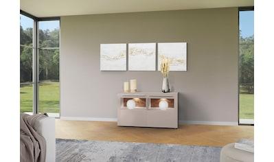 GWINNER Sideboard »Bellano«, mit Akzentrückwänden kaufen
