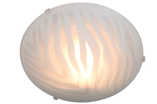 moderne weiße Deckenleuchte