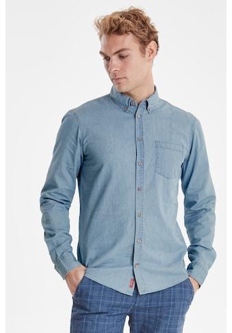 Blend Jeanshemd »Mit einem schlichten Button - Down - Kragen« kaufen