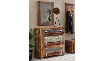 SIT Schuhschrank »Fridge«, mit Kühlschrankgriffen, Shabby Chic, Vintage kaufen