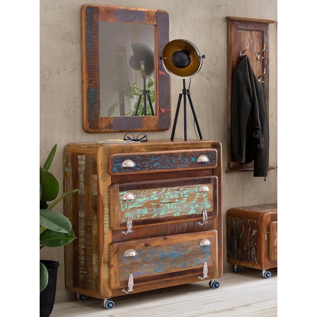 SIT Schuhschrank »Fridge«, mit Kühlschrankgriffen, Shabby Chic, Vintage