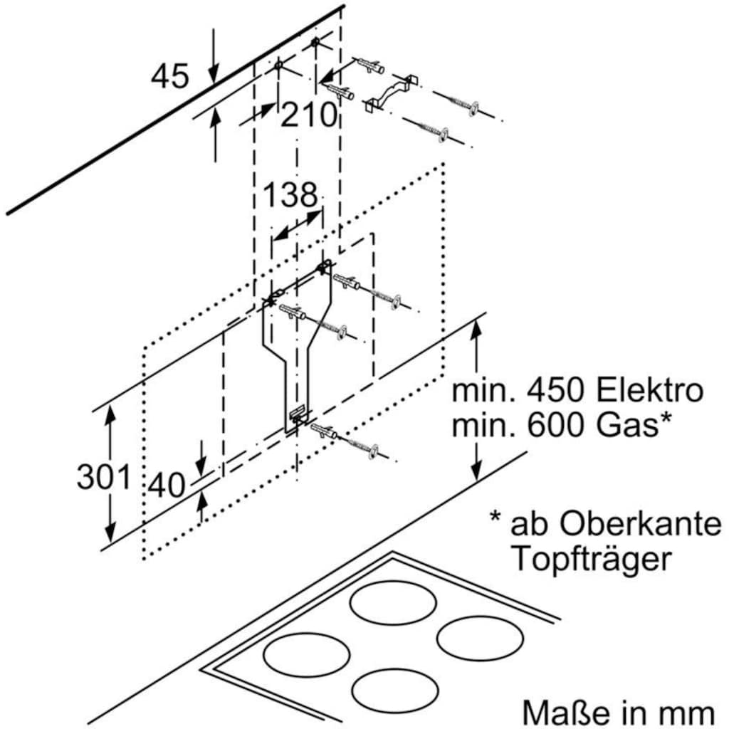 SIEMENS Kopffreihaube »LC98KLV60«, Serie iQ500
