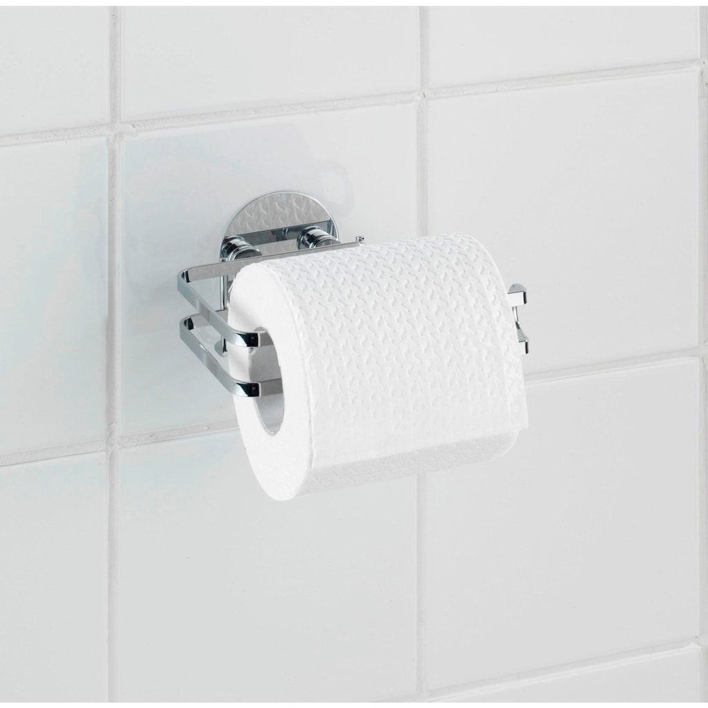 WENKO Toilettenpapierhalter, Edelstahl
