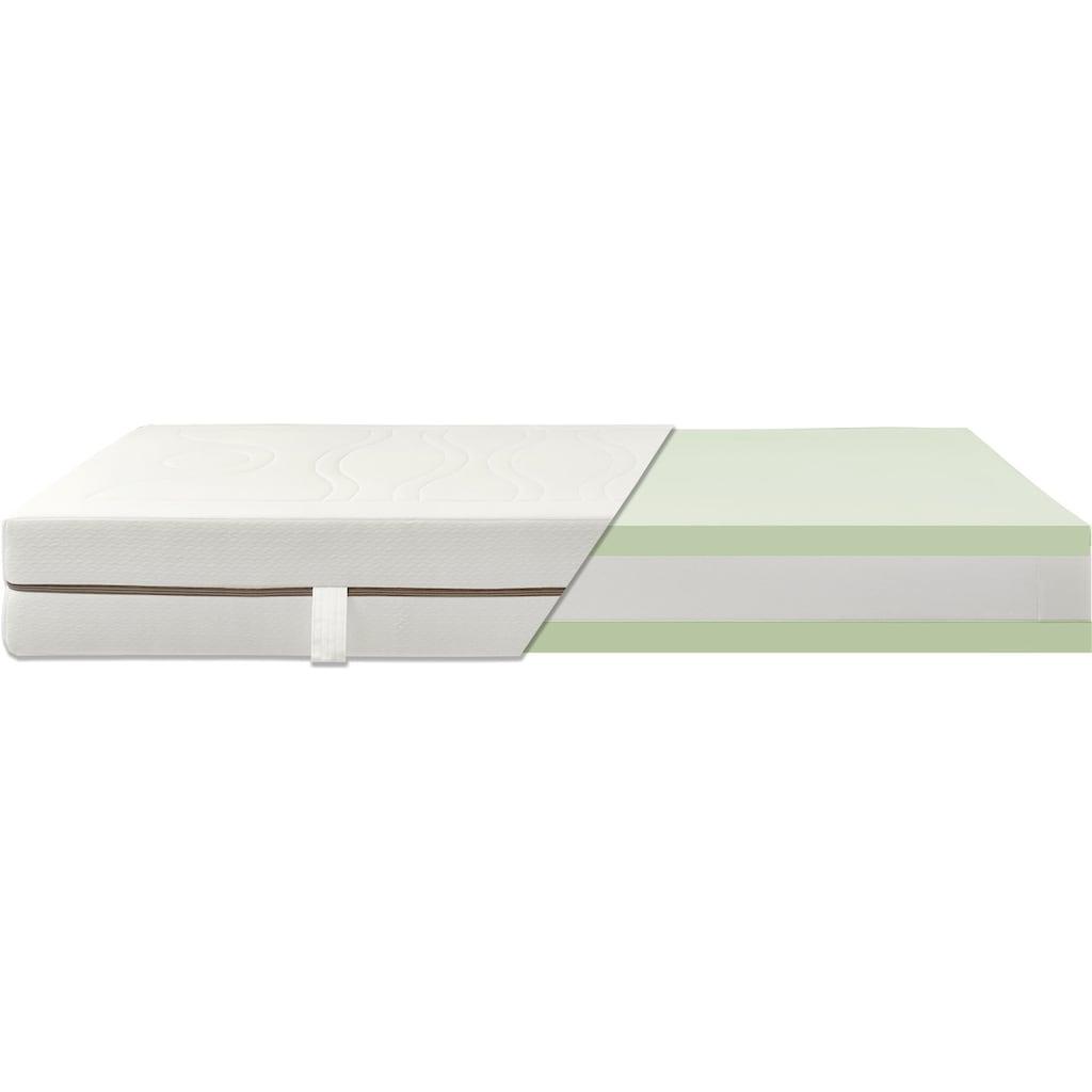 Breckle Taschenfederkernmatratze »TFK First Quality«, 24 cm cm hoch, 1000 Federn, (1 St.), 7-Zonen Taschenfederkernmatratze, ein Plus an Komfort und Design, Made in Germany