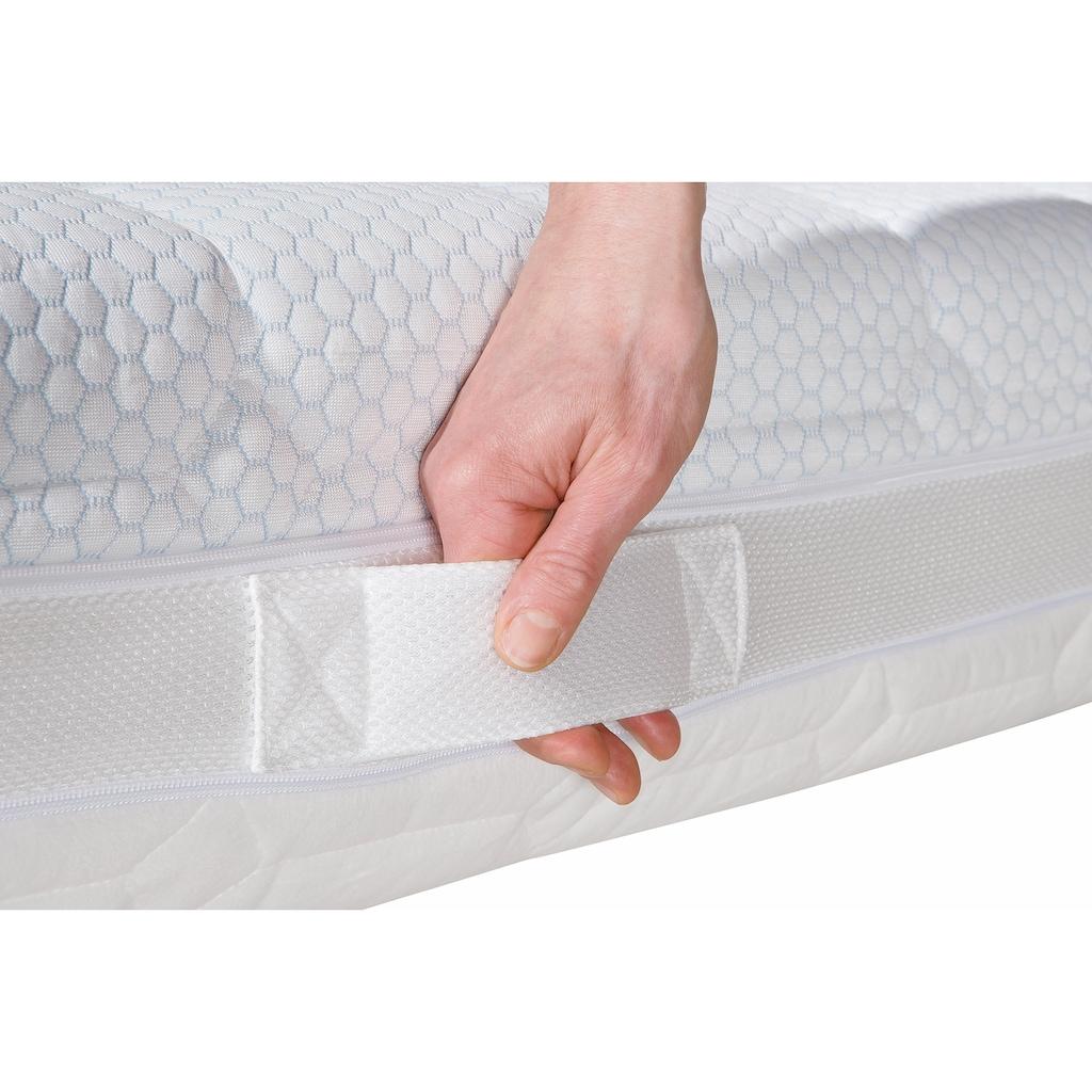 SonnCo Komfortschaummatratze »Lucas«, 20 cm cm hoch, Raumgewicht: 30 kg/m³, (1 St.), Mit kühlender Sommerseite und kuscheliger Winterseite