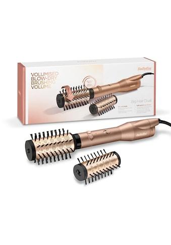 BaByliss Warmluftbürste »AS952E Big Hair Dual«, 2 Aufsätze}, rotierende Warmluftbürste mit 2 Aufsätzen kaufen