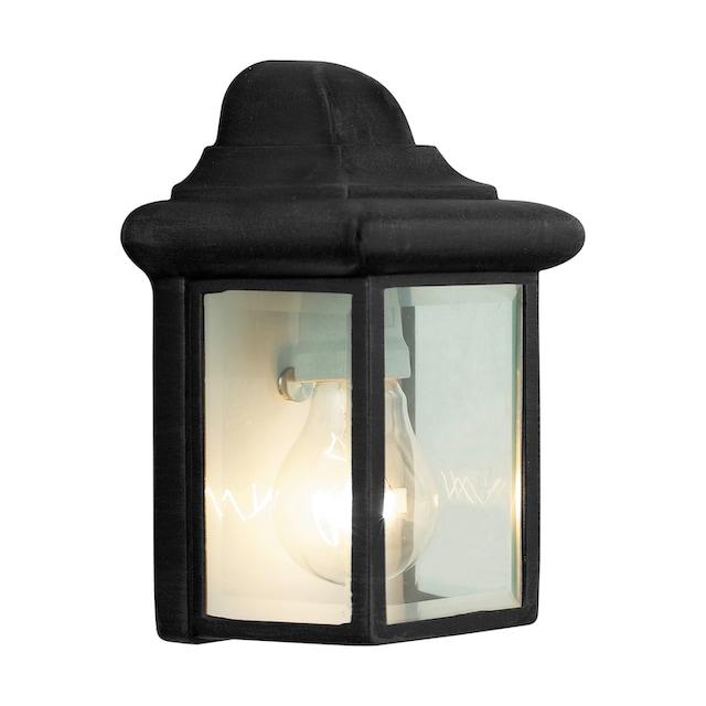 Brilliant Leuchten Newport Außenwandleuchte schwarz