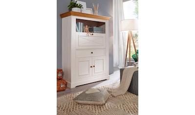 Premium collection by Home affaire Aktenschrank »Marissa«, aus Massivholz kaufen