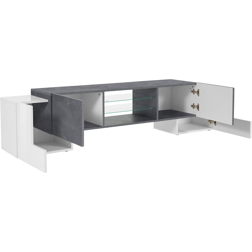 Tecnos Lowboard »Pillon«, Breite 190 cm